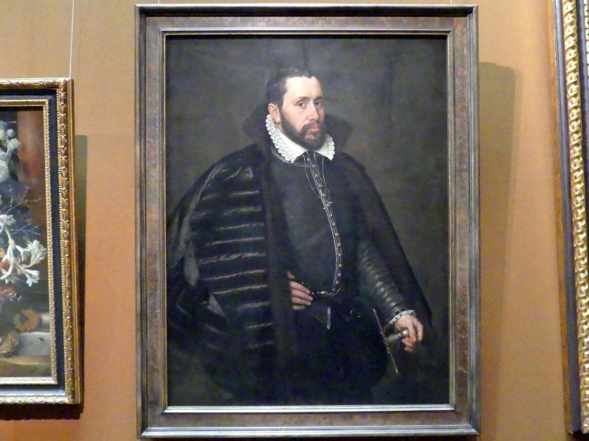 Adriaen Thomasz Key: Bildnis eines Herrn in spanischer Tracht, 1568
