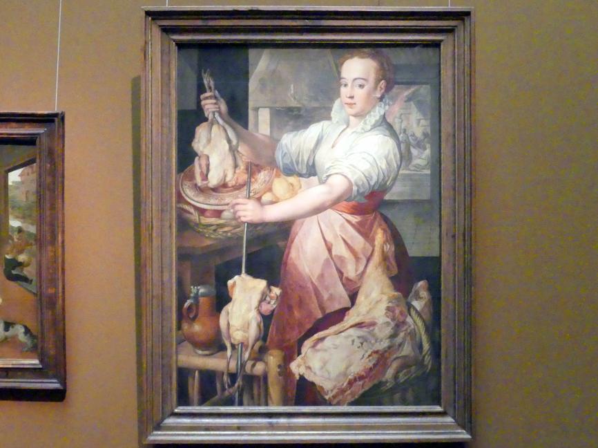 Joachim Beuckelaer: Köchin, 1574