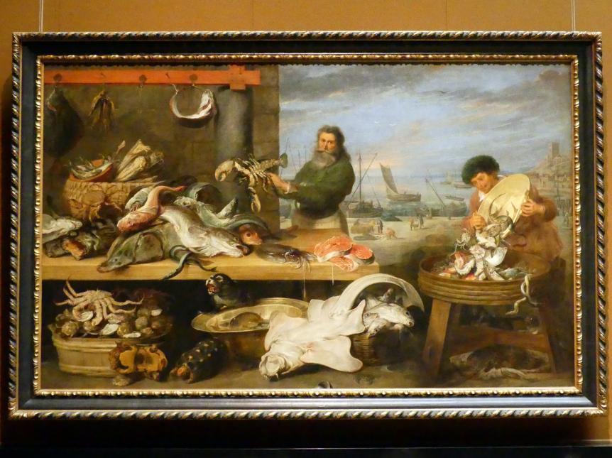 Frans Snyders: Fischmarkt, um 1620 - 1630
