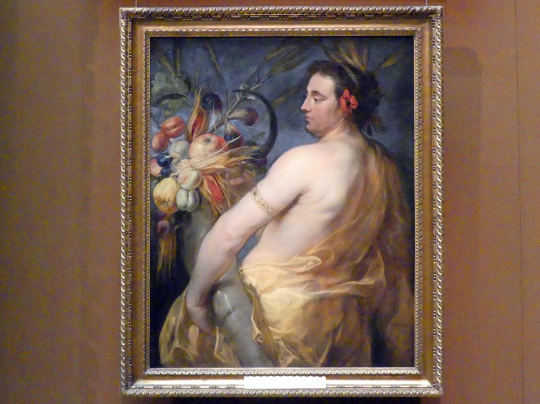 Johann Bockhorst (Jan Boeckhorst): Ceres (Allegorie des Sommers), Um 1635