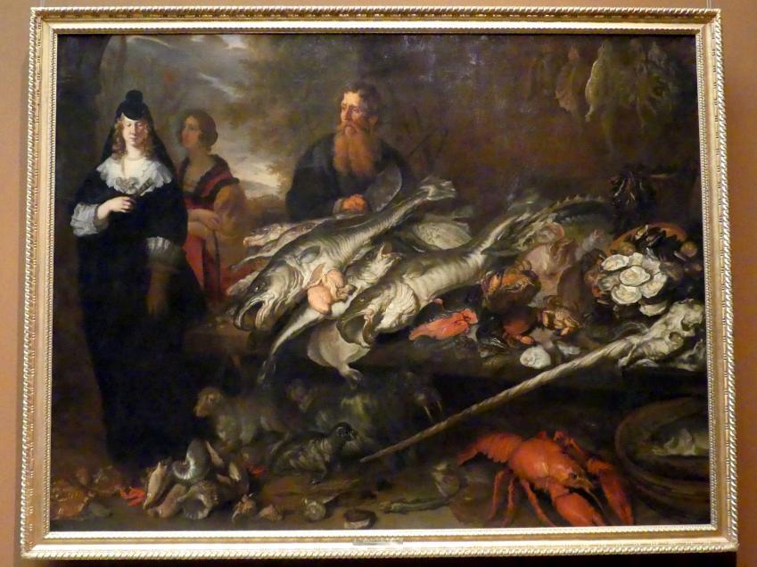 Joachim von Sandrart der Ältere: Großer Fischmarkt, Um 1654 - 1655