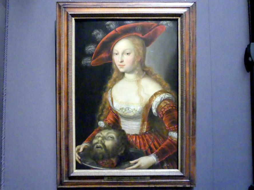 Joseph Heintz der Ältere: Salome mit dem Haupt Johannes des Täufers, um 1600 - 1605