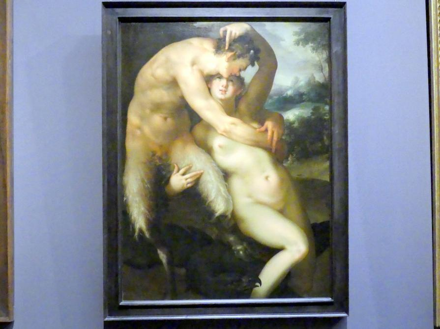Bartholomäus Spranger: Jupiter und Antiope, um 1596
