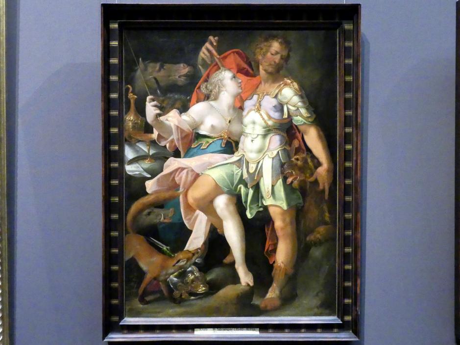 Bartholomäus Spranger: Odysseus und Kirke, um 1580 - 1585