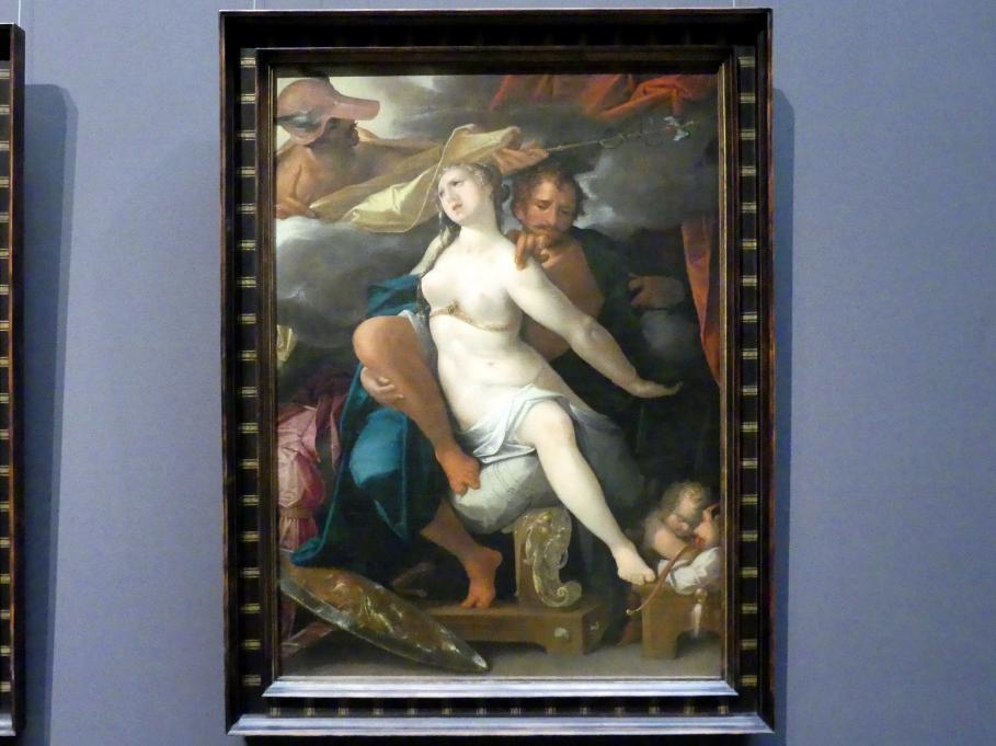 Bartholomäus Spranger: Venus und Mars, von Merkur gewarnt, Undatiert