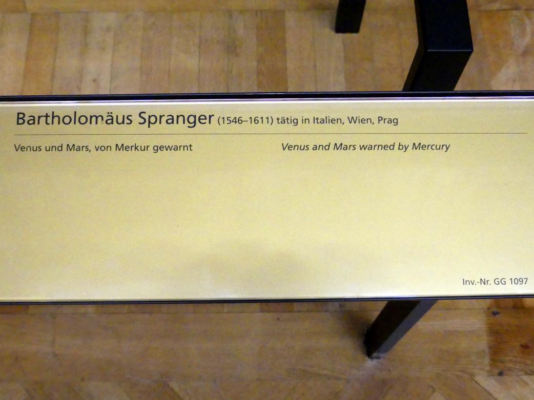 Bartholomäus Spranger: Venus und Mars, von Merkur gewarnt, Undatiert, Bild 2/2