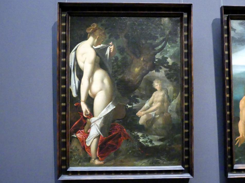 Bartholomäus Spranger: Hermaphroditus und die Nymphe Salmacis, um 1580 - 1582