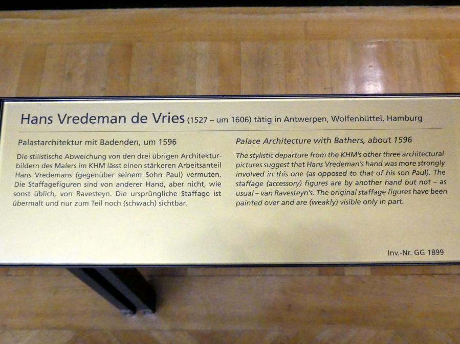Hans Vredeman de Vries: Palastarchitektur mit Badenden, um 1596, Bild 2/2