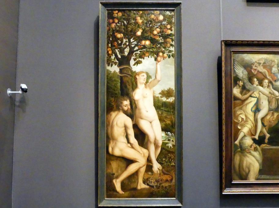 Michiel Coxcie: Der Sündenfall, Um 1550