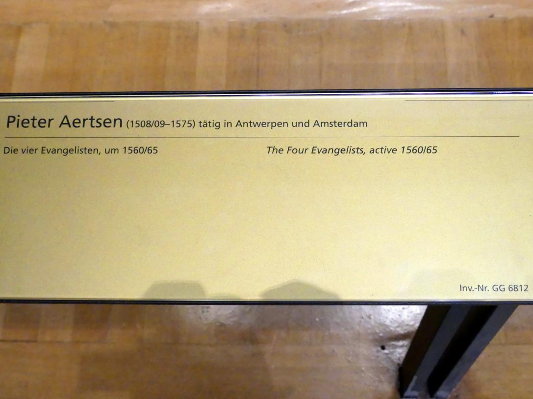 Pieter Aertsen: Die vier Evangelisten, um 1560 - 1565
