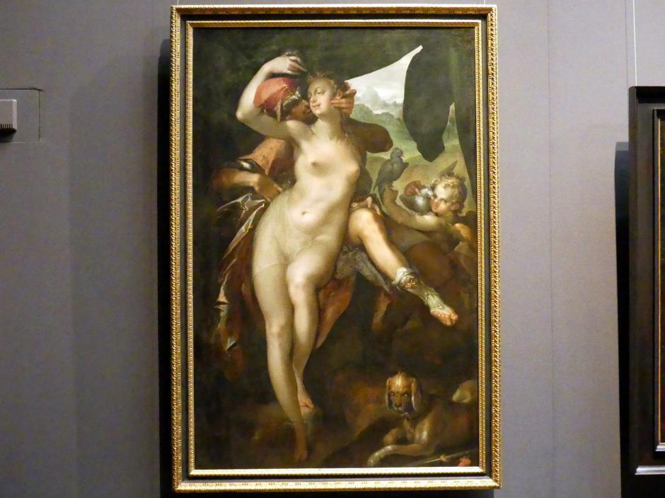Bartholomäus Spranger: Venus und Adonis, um 1595 - 1597, Bild 1/2