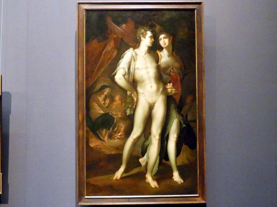 "Bartholomäus Spranger: ""Sine Cerere et Baccho friget Venus"" (Ohne Ceres und Bacchus friert Venus), um 1590 - 1595"