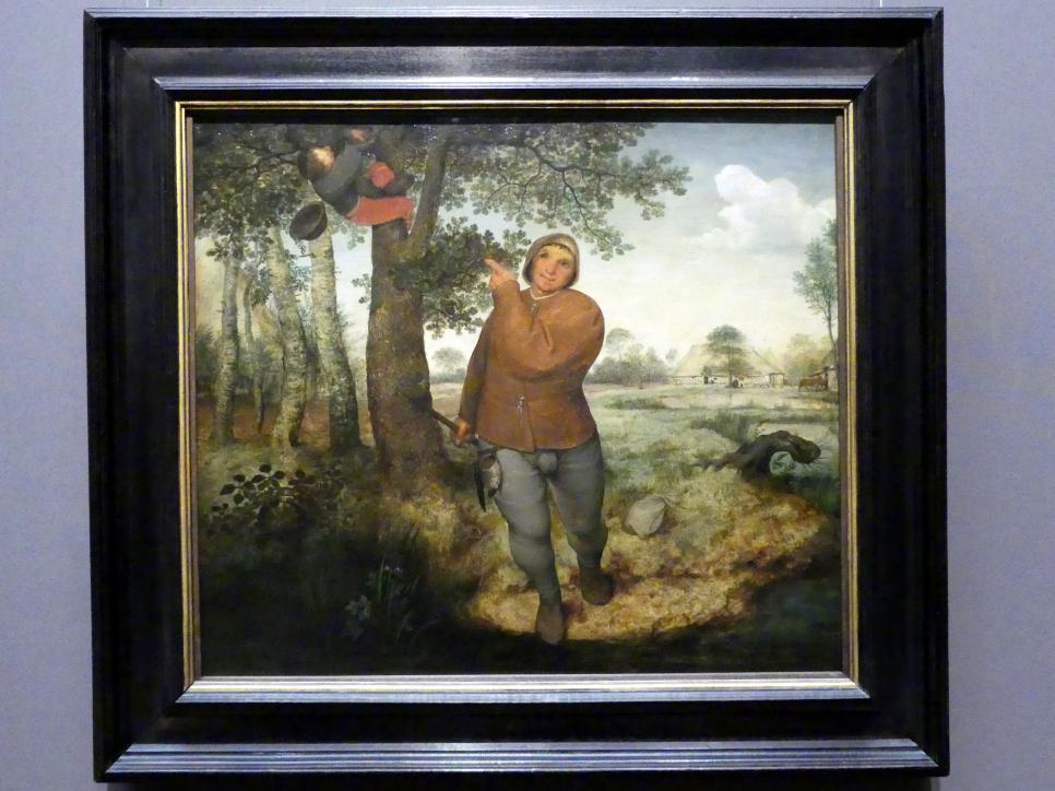 Pieter Brueghel der Ältere (Bauernbrueghel): Bauer und Vogeldieb, 1568