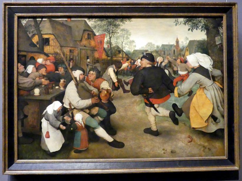 Pieter Brueghel der Ältere (Bauernbrueghel): Bauerntanz, um 1568