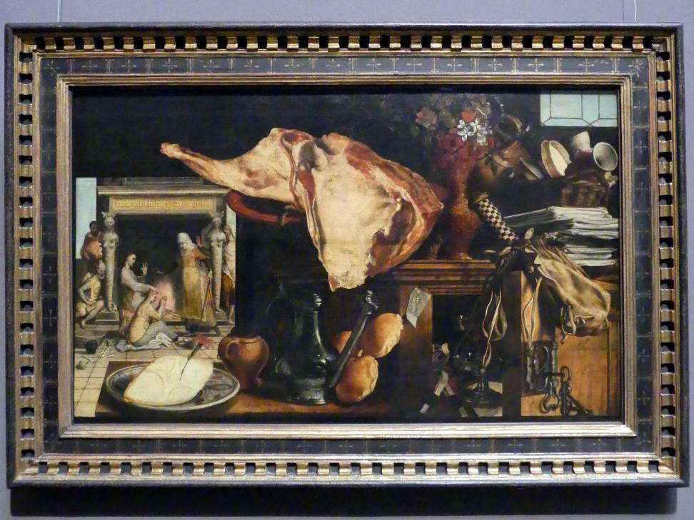 Pieter Aertsen: Vanitas-Stillleben, 1552