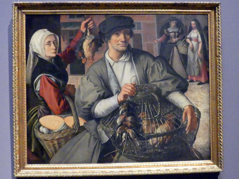 Pieter Aertsen: Marktszene, um 1560 - 1565