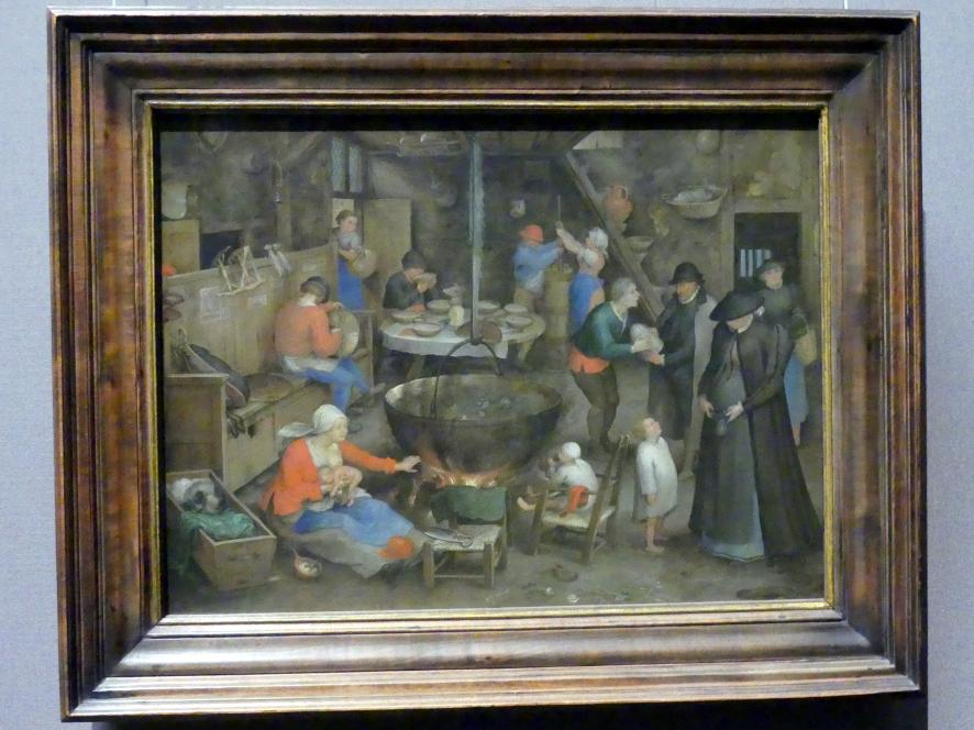 Jan Brueghel der Ältere (Blumenbrueghel): Besuch auf dem Pachthof, um 1597