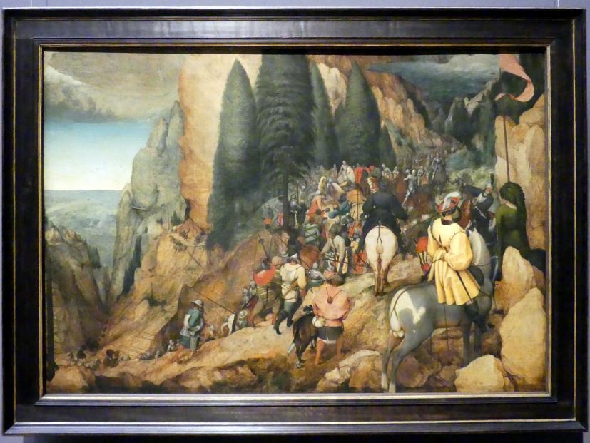 Pieter Brueghel der Ältere (Bauernbrueghel): Bekehrung Pauli, 1567