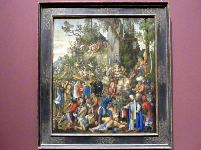 Albrecht Dürer: Marter der Zehntausend Christen, 1508