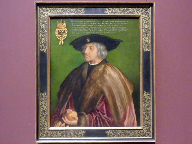 Albrecht Dürer: Kaiser Maximilian I. (1459-1519), 1519