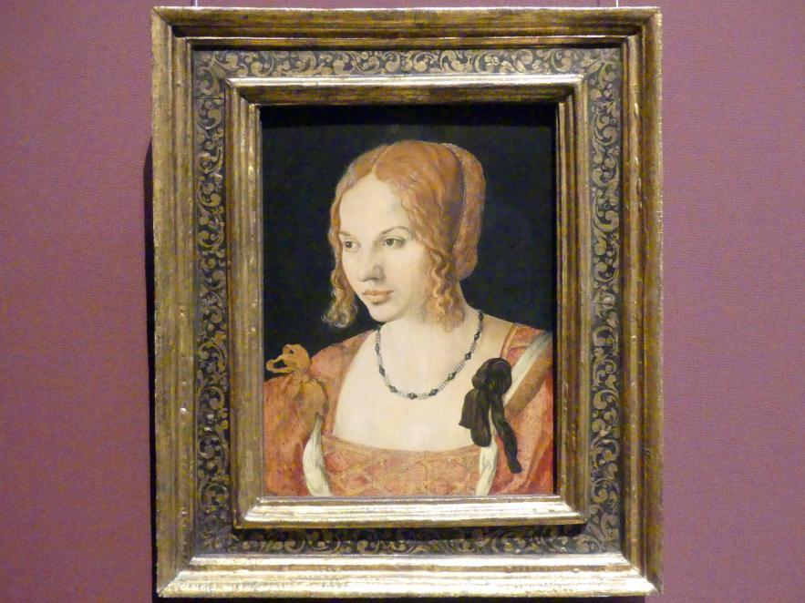 Albrecht Dürer: Junge Venezianerin, 1505