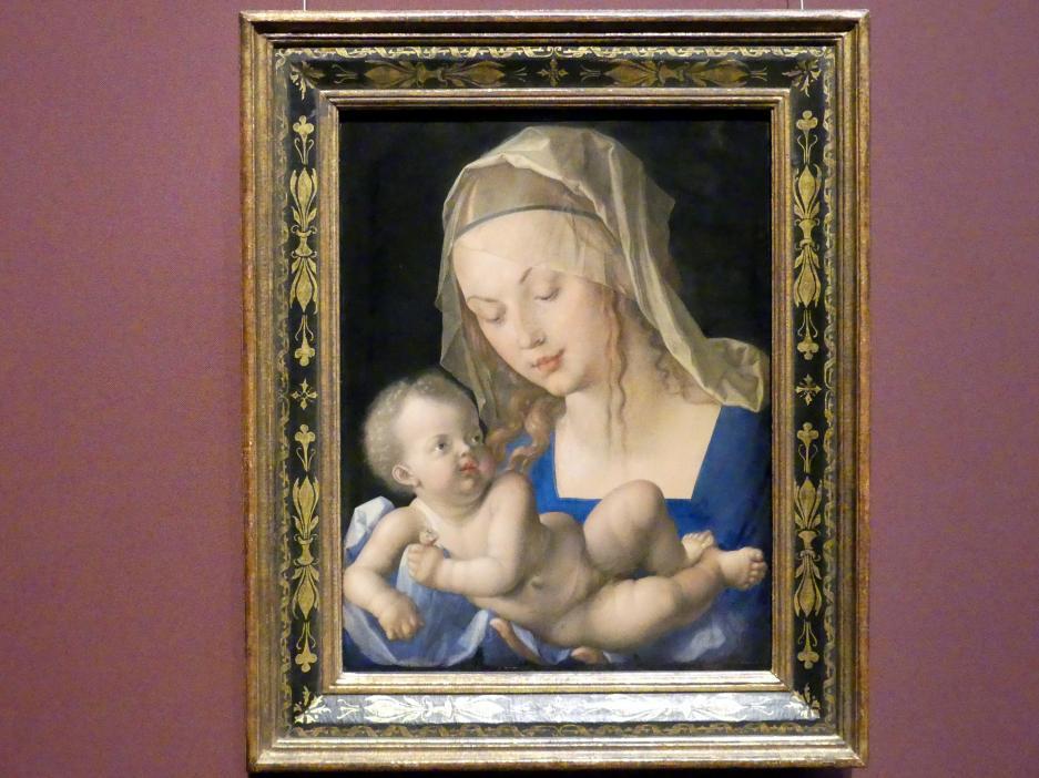 Albrecht Dürer: Maria mit der Birnenschnitte, 1512