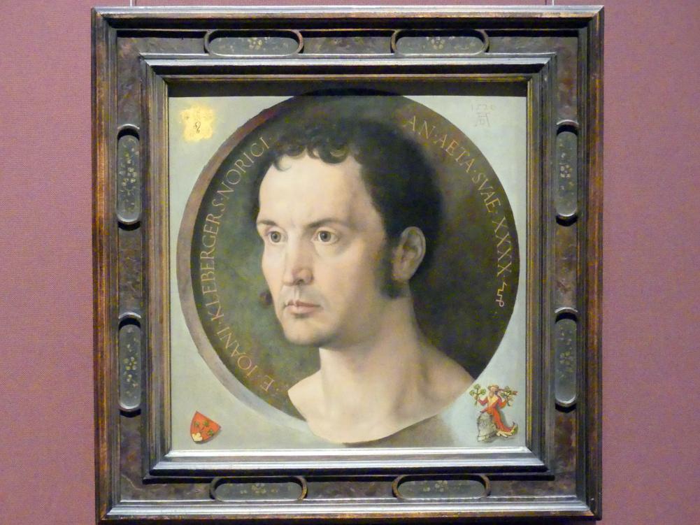 Albrecht Dürer: Johannes Kleberger, 1526