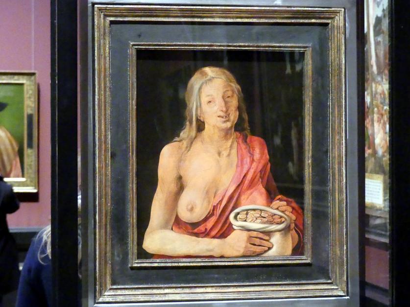 Albrecht Dürer: Allegorische Frauenfigur, 1507