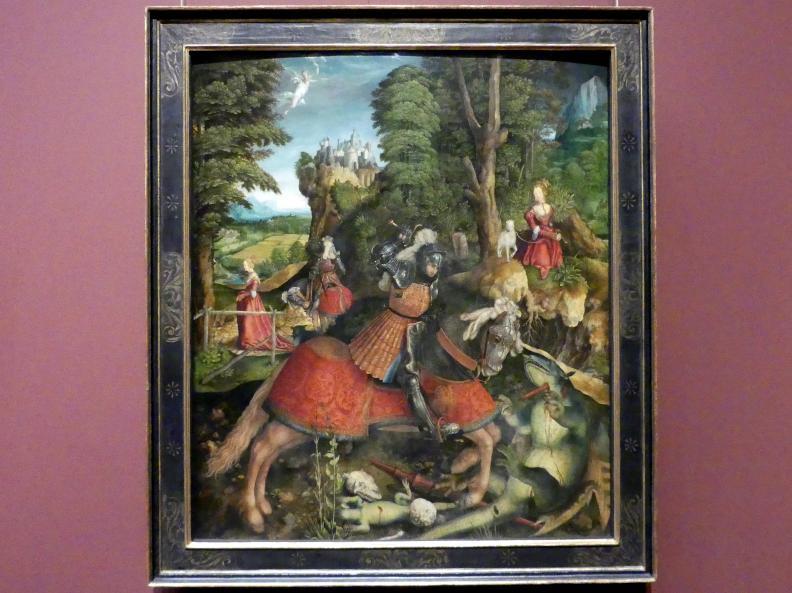 Leonhard Beck: Hl. Georg im Kampf mit dem Drachen, um 1515