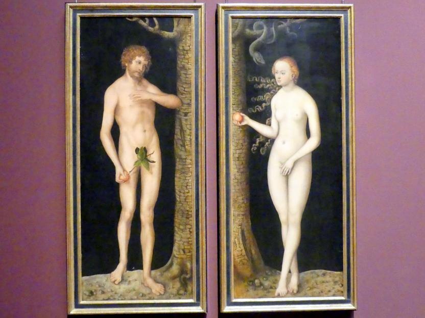 Lucas Cranach der Ältere: Adam und Eva, Um 1510 - 1520