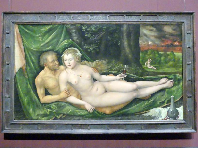 Albrecht Altdorfer: Lot und seine Töchter, 1537