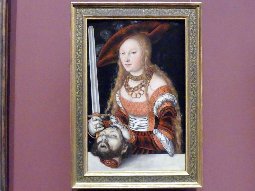 Lucas Cranach der Ältere: Judith und Holofernes, Um 1530