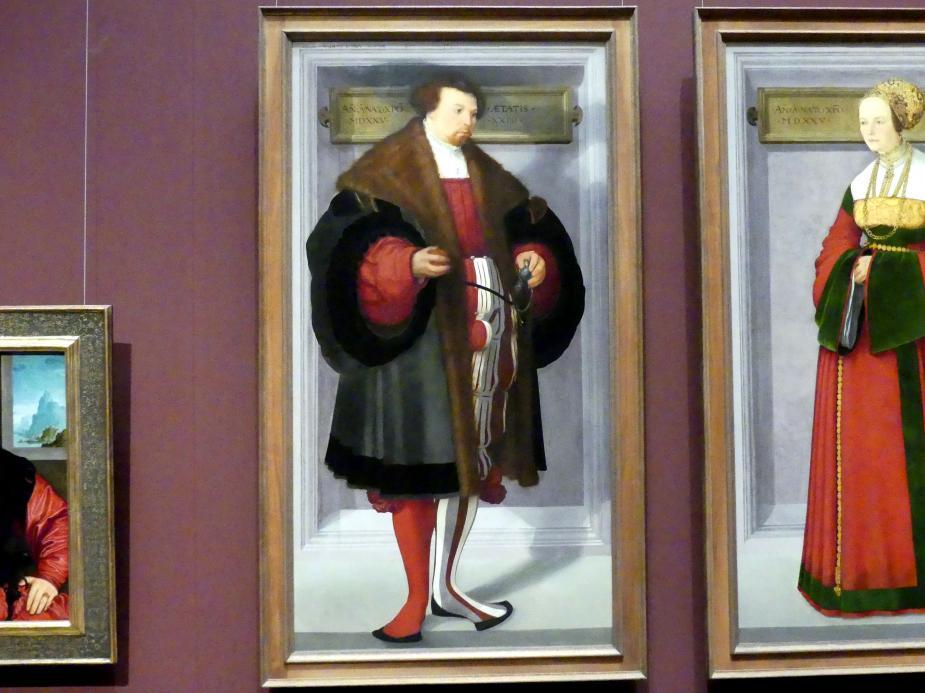 Christoph Amberger: Bildnis eines Mannes, 1525