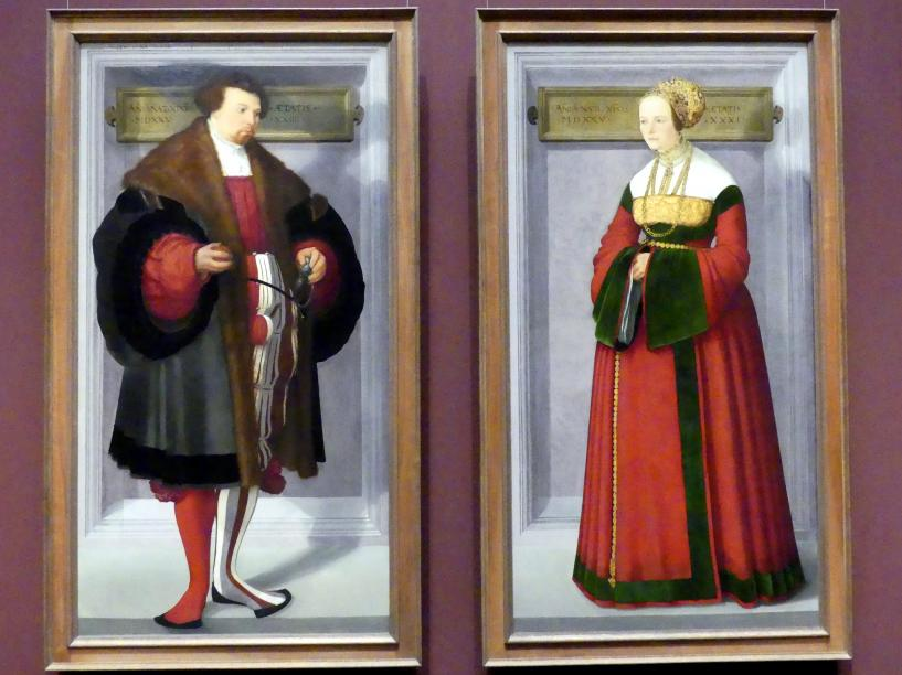 Christoph Amberger: Bildnis eines Mannes, 1525, Bild 2/3