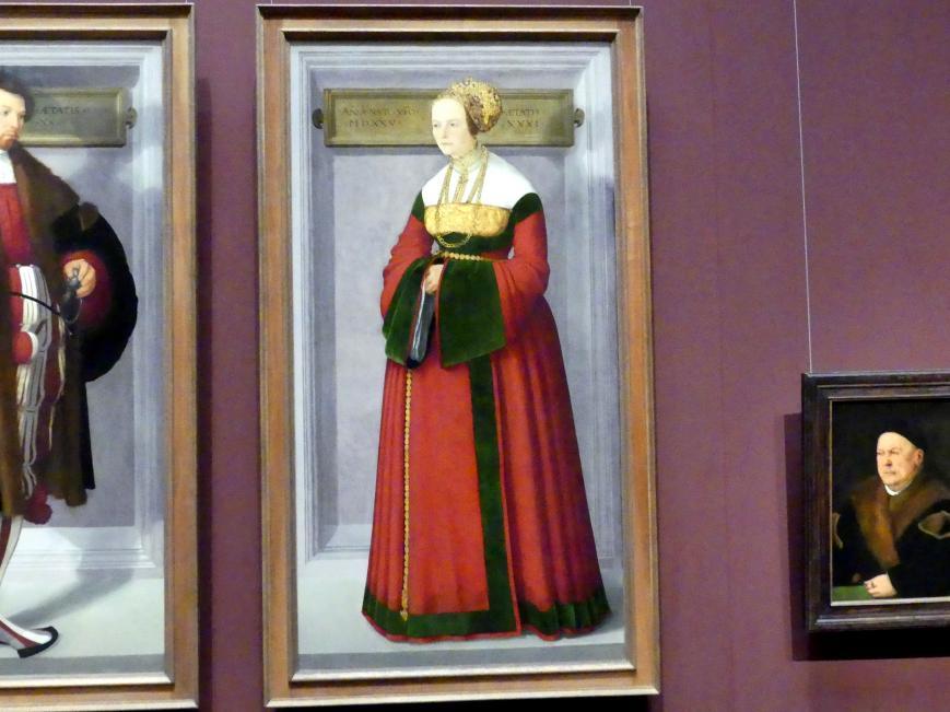 Christoph Amberger: Bildnis einer Frau, 1525