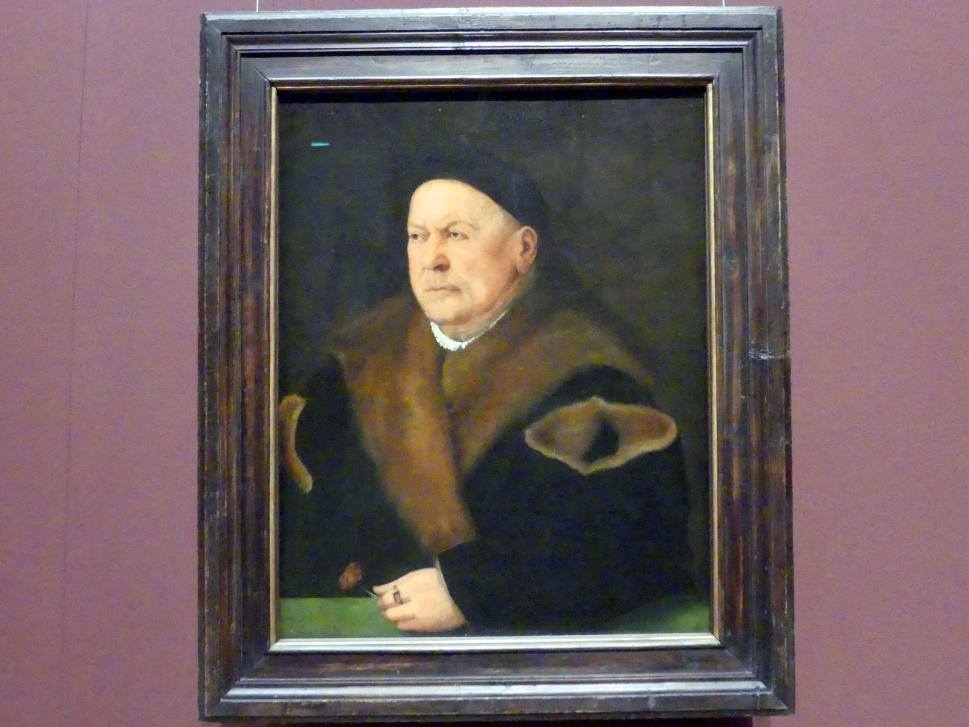 Christoph Amberger: Der Augsburger Patrizier Ulrich Sulzer, 1538