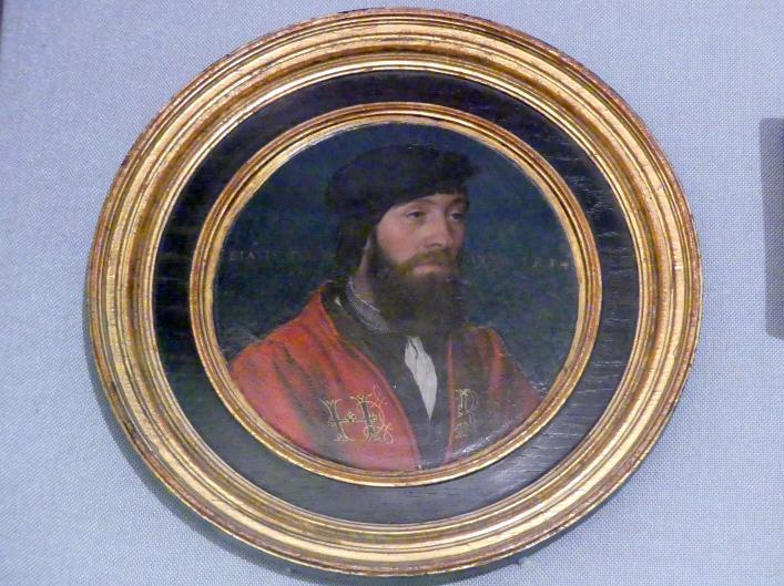 Hans Holbein der Jüngere: Ein Hofbediensteter König Heinrichs VIII. und seine Frau, 1534