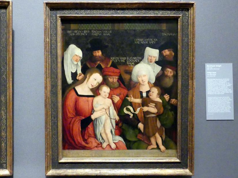 Bernhard Strigel: Heilige Sippe, Um 1520