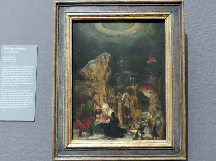 Albrecht Altdorfer: Geburt Christi, Um 1520 - 1525