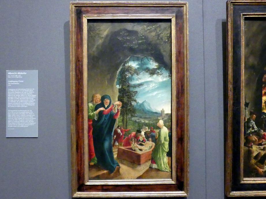 Albrecht Altdorfer: Grablegung Christi, 1518