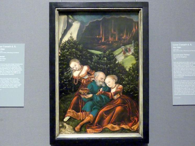 Lucas Cranach der Ältere: Lot und seine Töchter, 1528