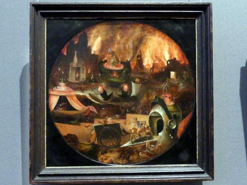 Herri met de Bles: Hölle, um 1540 - 1550