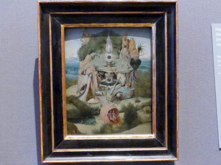 Hieronymus Bosch (Nachfolger): Paradiesdarstellung, nach 1539