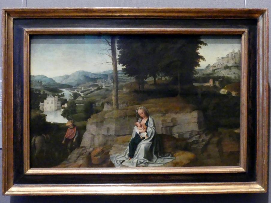 Adriaen Isenbrant: Ruhe auf der Flucht nach Ägypten, um 1510 - 1520