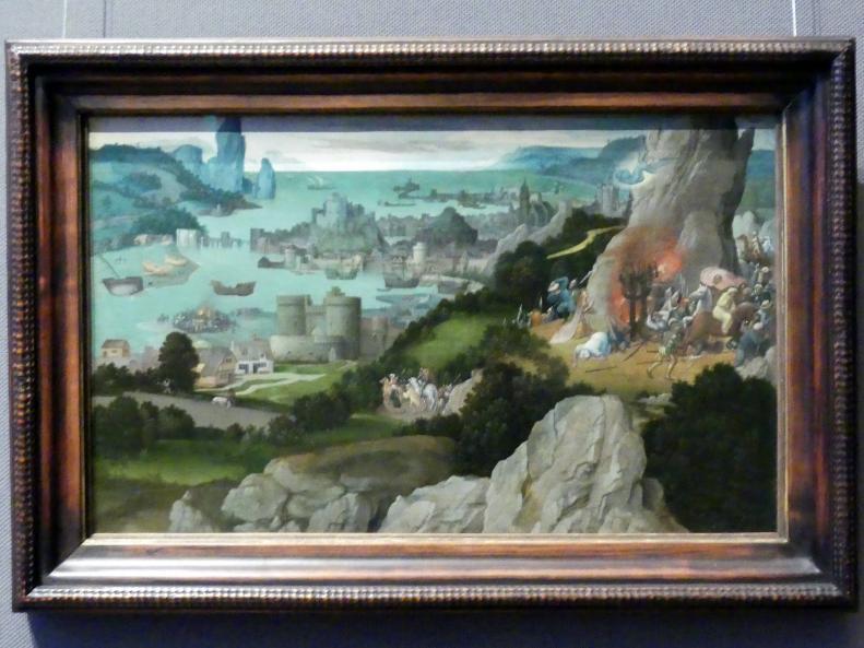 Joachim Patinir (Patenier): Radwunder der Hl. Katharina, vor 1515