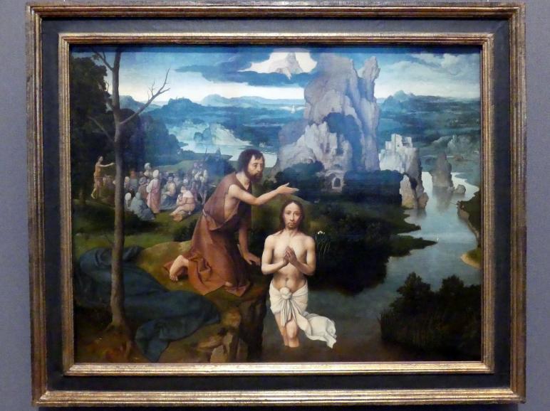 Joachim Patinir (Patenier): Taufe Christi, um 1515