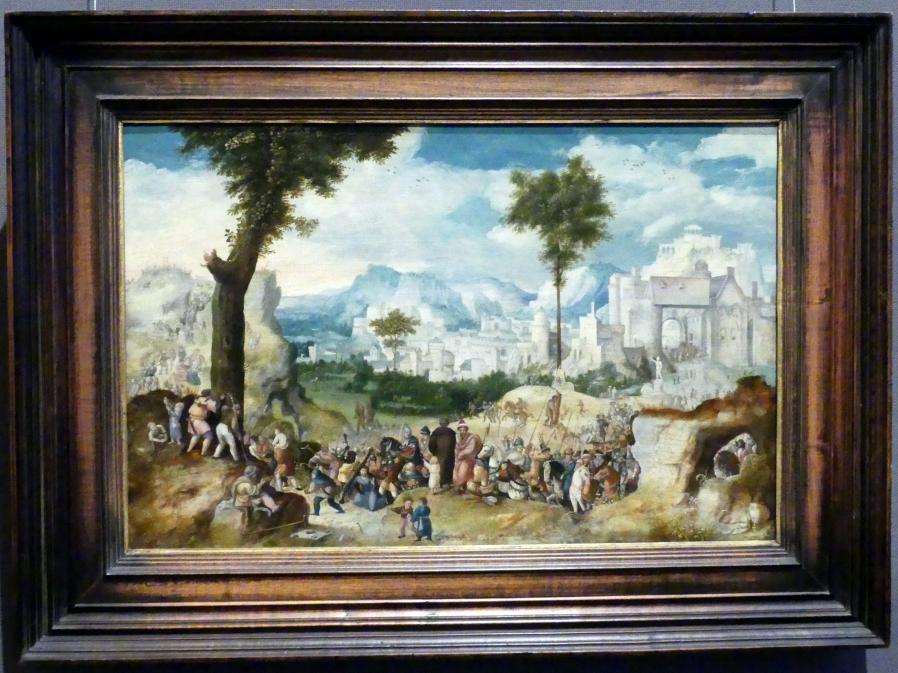 Herri met de Bles: Kreuztragung Christi, um 1535 - 1540