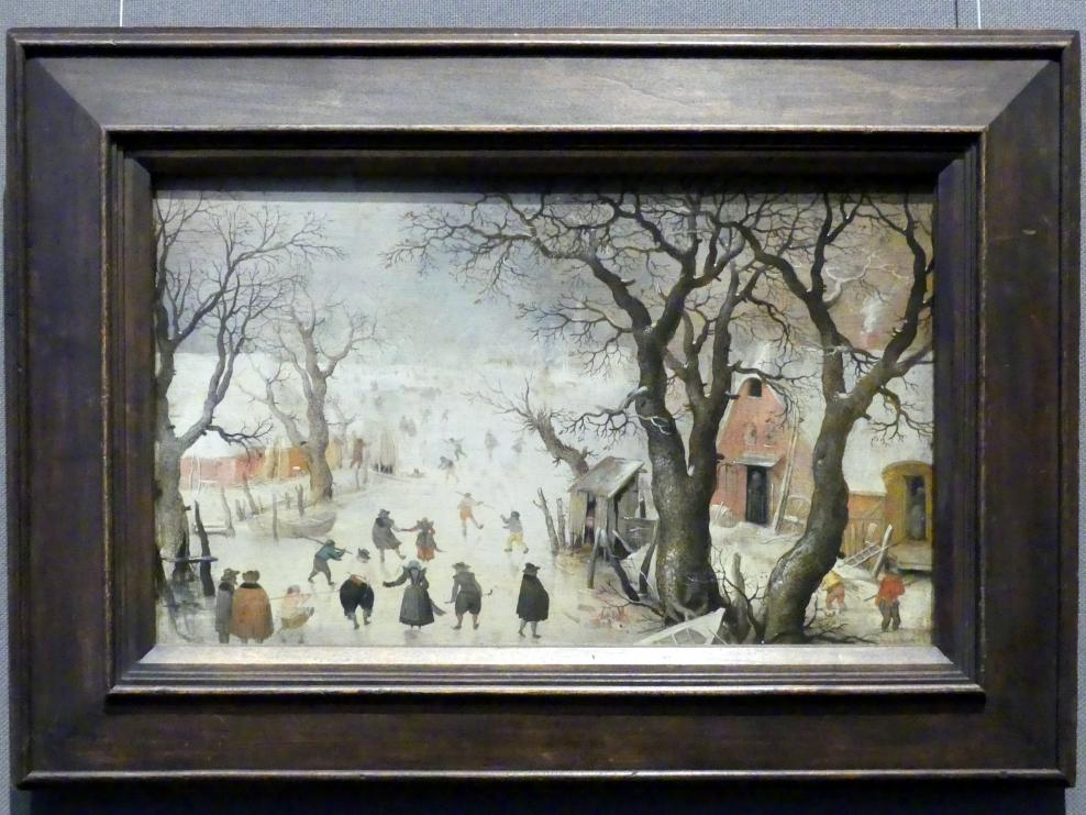 Hendrick Avercamp: Winterlandschaft, Um 1605