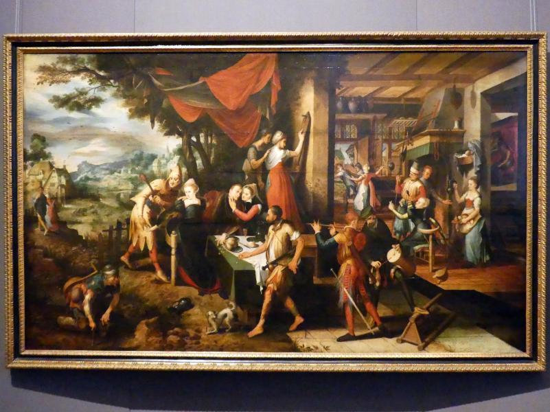Meister des Verlorenen Sohnes: Gleichnis vom Verlorenen Sohn, um 1550