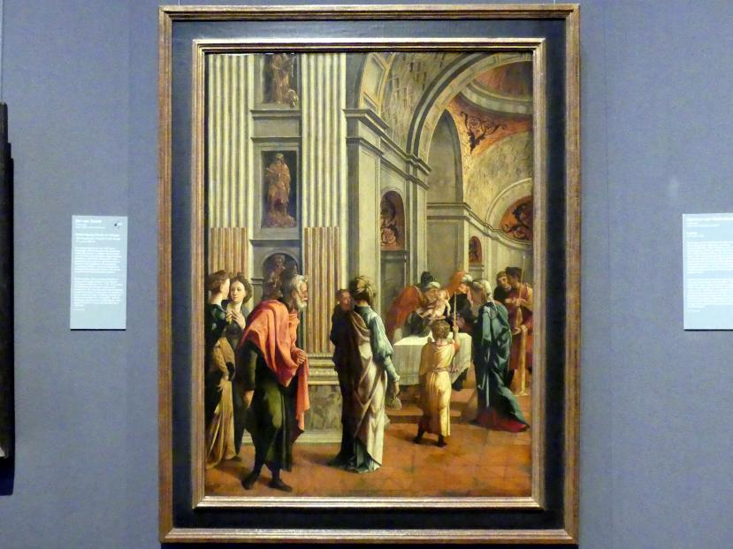 Jan van Scorel: Darbringung Christi im Tempel, um 1530 - 1540